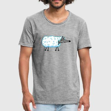 Wolf in sheep's clothing - Men's Vintage T-Shirt
