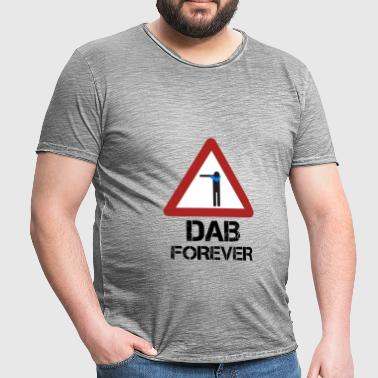 Dab Toujours Rouge - T-shirt vintage Homme