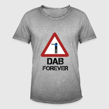 Dab forever red - Mannen Vintage T-shirt