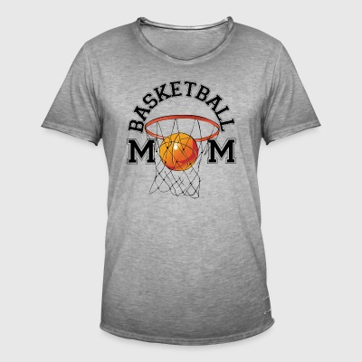 Basketball Mom - Männer Vintage T-Shirt