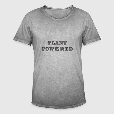 plante pavered - Herre vintage T-shirt