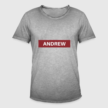 Andrew - T-shirt vintage Homme