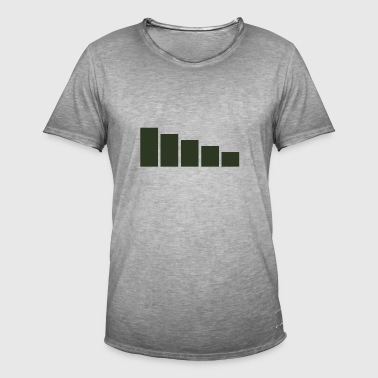 cell signal - Men's Vintage T-Shirt