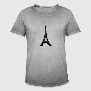 Eiffel Tower - Men's Vintage T-Shirt