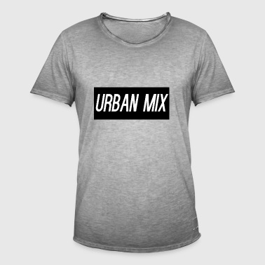 URBAN MIX - Mannen Vintage T-shirt