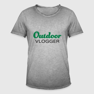 Outdoor vloggers and nature lovers - Men's Vintage T-Shirt
