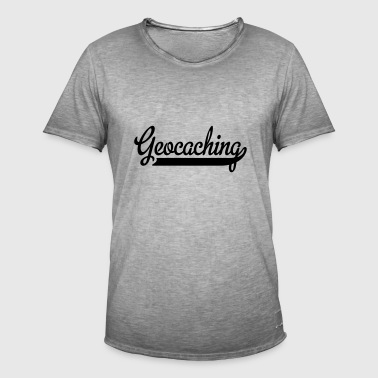 2541614 15382304 geocaching - T-shirt vintage Homme
