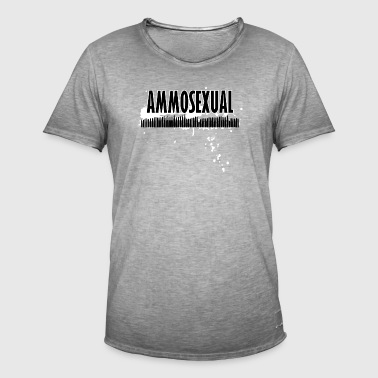 Ammosexual Multi-Caliber (black) - Men's Vintage T-Shirt