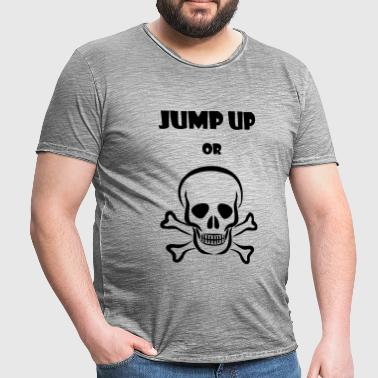 Jump up of Die Tee - Mannen Vintage T-shirt