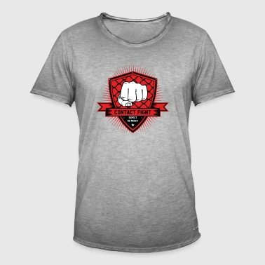 Contact Fight Classic - Mannen Vintage T-shirt