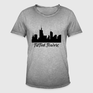 Tilted Towers - Männer Vintage T-Shirt