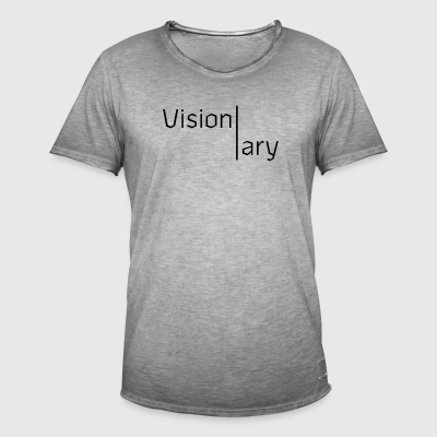 VISIONARY - LAW OF ATTRACTION - Men's Vintage T-Shirt