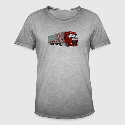 Super Fun Happy Logistics - Men's Vintage T-Shirt