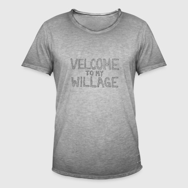 Velcome à mon Willage - T-shirt vintage Homme