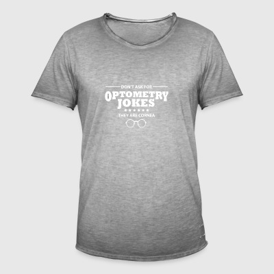 Opticien optometrist oogarts opticien - Mannen Vintage T-shirt