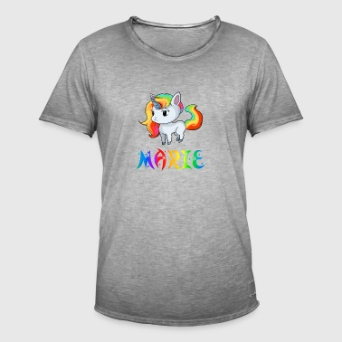 Marie unicorn - Men's Vintage T-Shirt