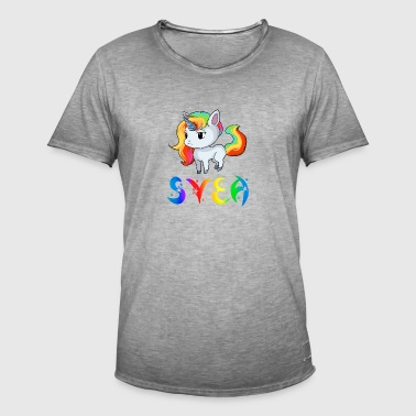 Svea unicorn - Men's Vintage T-Shirt