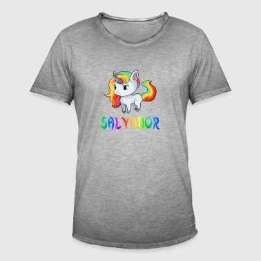 Unicorn salvador - Men's Vintage T-Shirt