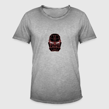 spacemask red - Men's Vintage T-Shirt
