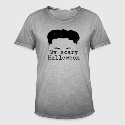 My Scary Halloween Kim - Men's Vintage T-Shirt