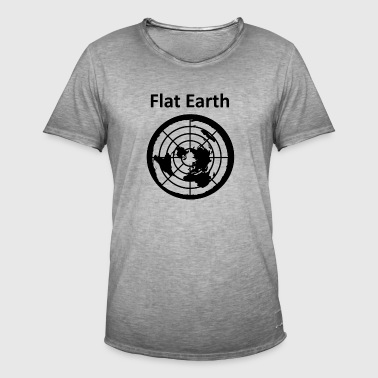 Flat Earth 2 - Männer Vintage T-Shirt