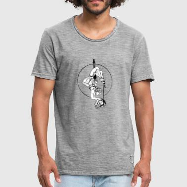 anatomie-print-circle-black - Men's Vintage T-Shirt