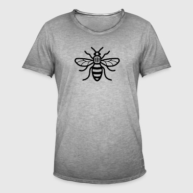 Manchester Bee - Herre vintage T-shirt