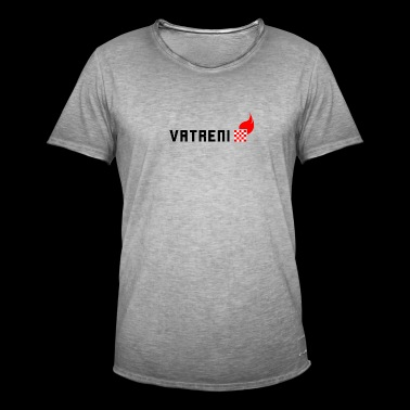 Vatreni Croatia Soccer National Team - Men's Vintage T-Shirt
