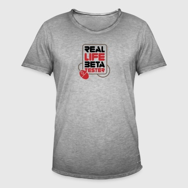 Real Life Beta Testers! - Men's Vintage T-Shirt