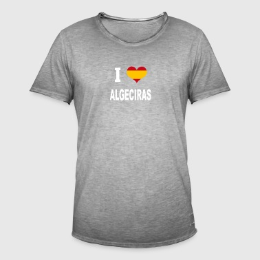 I Love Spain ALGECIRAS - Men's Vintage T-Shirt