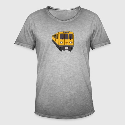 Subway - Men's Vintage T-Shirt