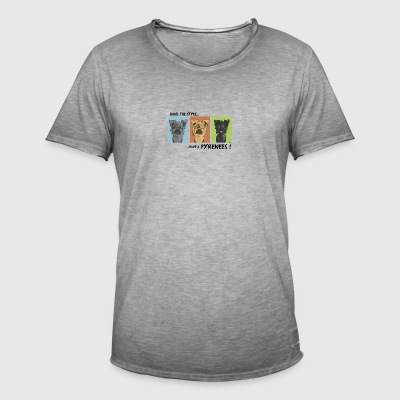 Have the style Have a pyrenees - Men's Vintage T-Shirt