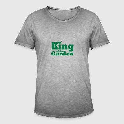 King of the Garden - Men's Vintage T-Shirt