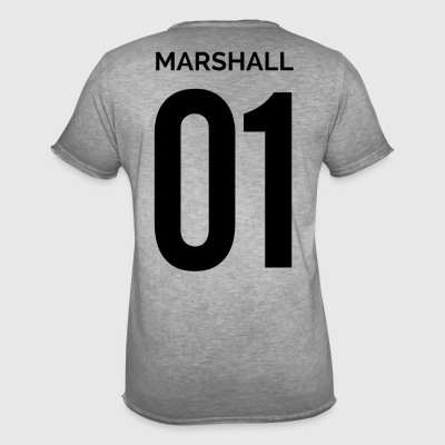 MARSHALL 01 - T-shirt vintage Homme