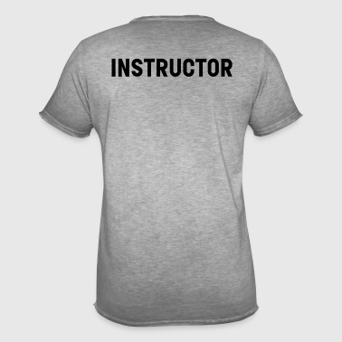 Instructor - Men's Vintage T-Shirt