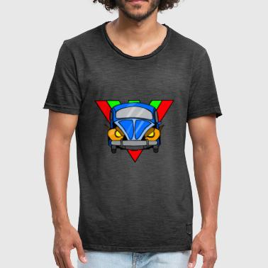 Retro car four-wheeler - Men's Vintage T-Shirt