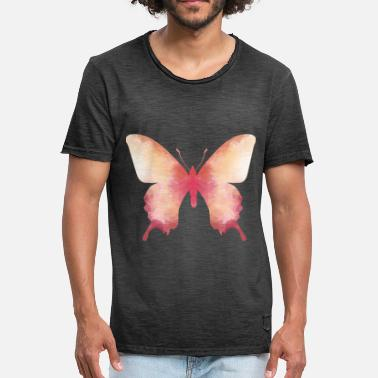 Butterfly Gift Insect Animal Nature Butterfly - Men's Vintage T-Shirt