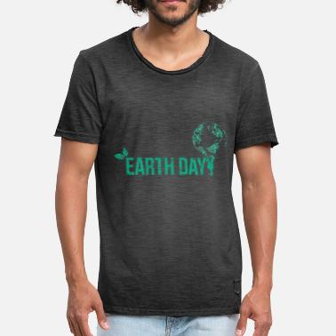 Earth Day Earth Day - Männer Vintage T-Shirt