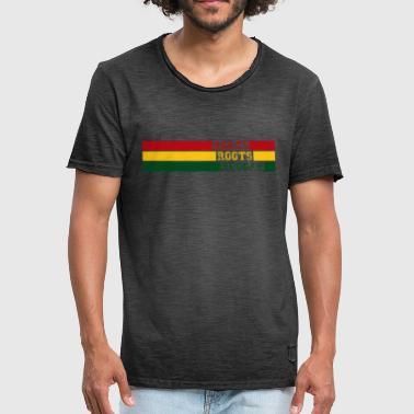 Roots roots reggae - Mannen Vintage T-shirt