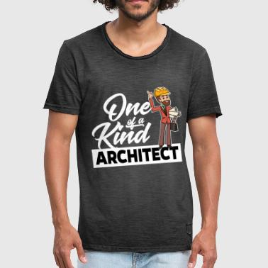 Proud Architect - One of a kind - Men's Vintage T-Shirt