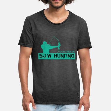 Bow Hunting Bow hunting - Men's Vintage T-Shirt