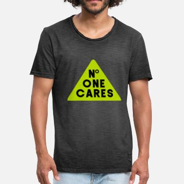 Careful Care - Men's Vintage T-Shirt