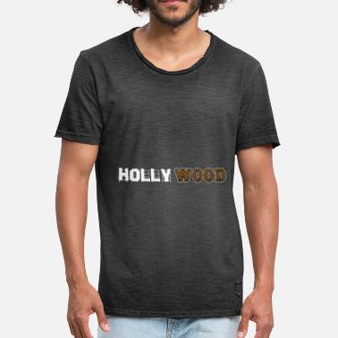 Woodstock Pologne HOLLY WOOD - T-shirt vintage Homme