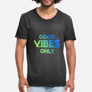 Vêtement Yolo Good Vibes Only - T-shirt vintage Homme