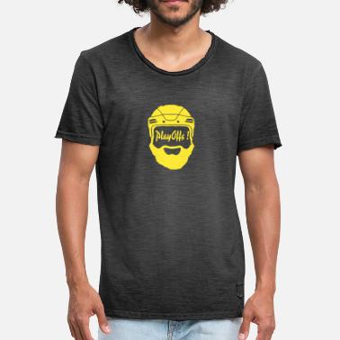 Playoffs Playoffs! amarillo - Camiseta vintage hombre