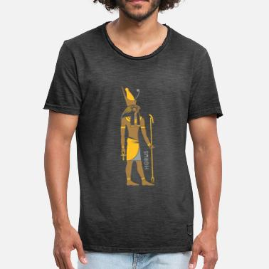 Ancient Egypt HORUS God of Egypt - Men's Vintage T-Shirt