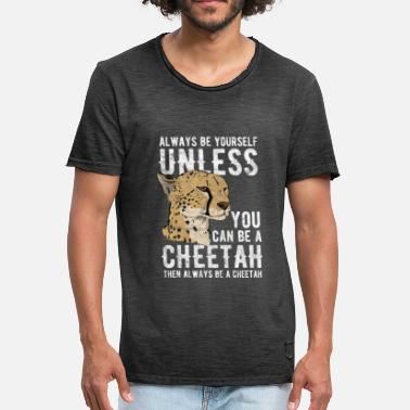Print Leopard | Cheetah | Savannah | safari - Men's Vintage T-Shirt