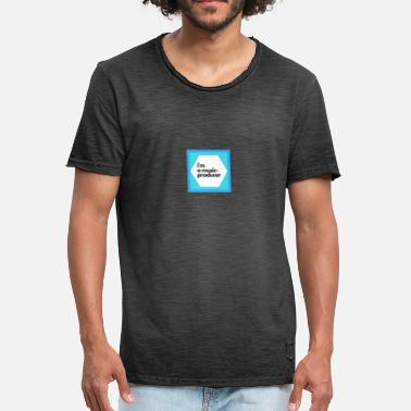 Producent muziek producent - Mannen Vintage T-shirt