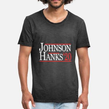 Hank Johnson Hanks For President 2020 - Men's Vintage T-Shirt