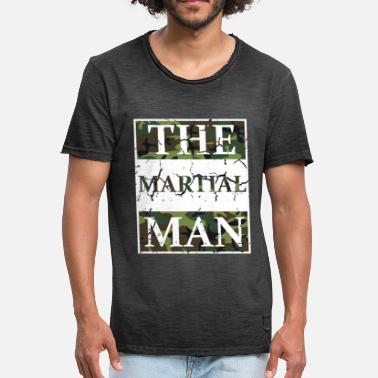 Martial Arts Kampfsport The Martial Man - Kampfsport Martial Arts - Männer Vintage T-Shirt
